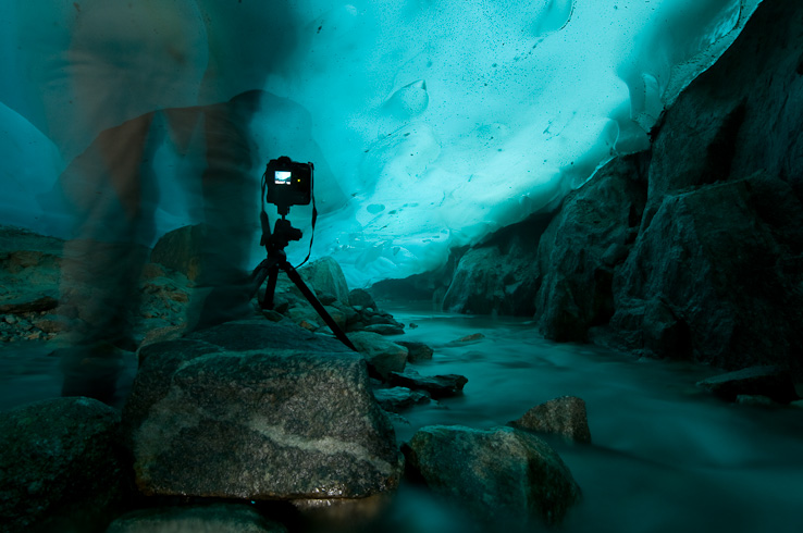 Ice Cavern Photography